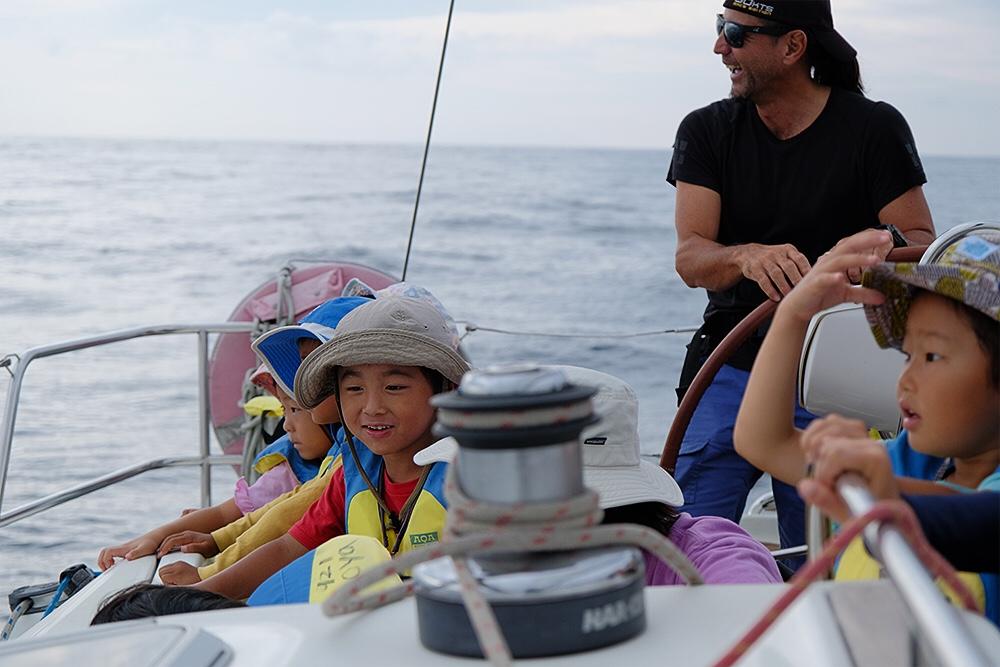 キッズ体験sailing